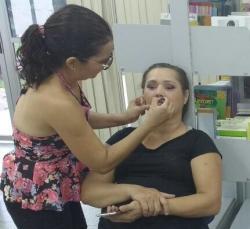 notícia - Alunas do curso de maquiagem são inseridas no mercado de trabalho